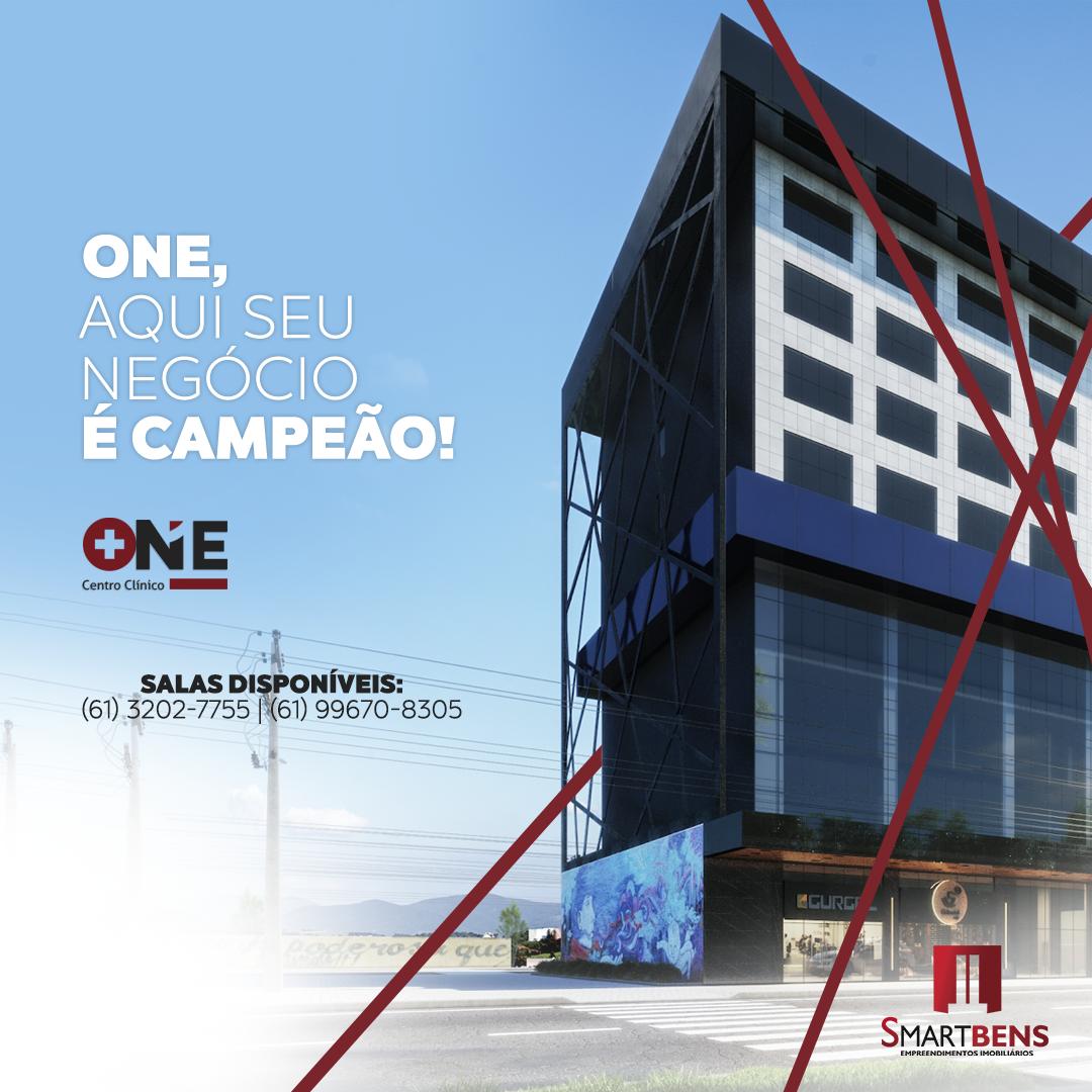 Centro Clinico One SALAS A partir de 37m² privativos até 600m²;